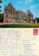 Chateau, Albon, Drome, France Postcard Posted 1975 Stamp - Frankreich