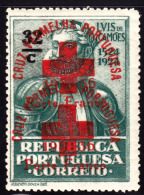Portugal 1926 Red Cross Society Double Overprint On Camoens Issue. Scott 1S67. MNH. - Neufs