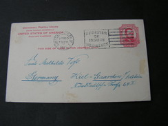 USA Karte 1923