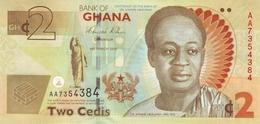 GHANA 2 CEDIS 2010 P-37A UNC COMMEMORATIVE [GH150a] - Ghana