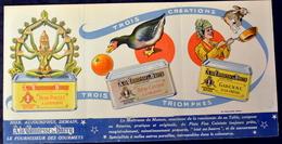 """Publicité """"Comtesse Du Barry"""" - GIMONT (Gers) - 1951  (CL 538) - Publicités"""