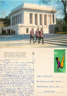 Georges Dimitrov Mausoleum, Sofia, Bulgaria Postcard Posted 1976 Stamp - Bulgaria