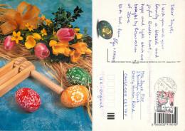Easter, Slovakia Postcard Posted 2000 Stamp - Slovakia