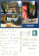 Den Gamle By, Aarhus, Denmark Postcard Posted 2010 Stamp - Danemark