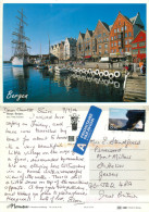 Bergen, Norway Postcard Posted 2006 Stamp - Noruega