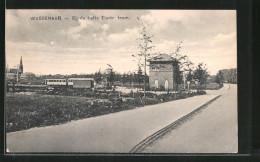 AK Wassenaar, Bij De Halte Electr. Tram, Strassenbahn - Pays-Bas