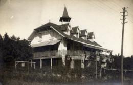 95 HOSTELLERIE D´HERBLAY Au Val D´Herblay Très Rare Carte-Photo  2 Scans - Herblay