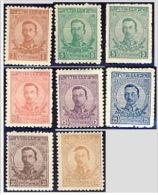 BULGARIA 1919 HISTORY Regular Stamps KING BORIS - Fine Set MNH - 1909-45 Königreich
