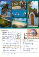 Multiview, Bermuda Postcard Posted 2006 Stamp - Bermudes