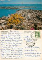 Aerial View, Florianopolis, Brazil Postcard Posted 1973 Stamp - Florianópolis