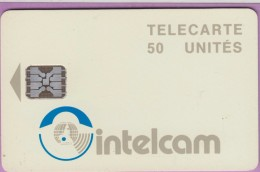 Télécarte Cameroun °° Intelcam 50 Unités - Sc5 -  N 21 - Grand Embouti  0860   R / V   **  Recto  LUXE - Cameroon