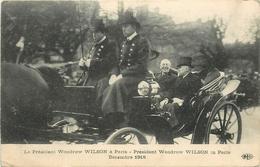 LE PRESIDENT WOODROW WILSON à PARIS - DECEMBRE 1918. - Présidents
