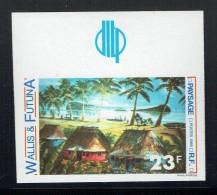 1989   Paysage Yv 392 Non-dentelé ** - Imperforates, Proofs & Errors