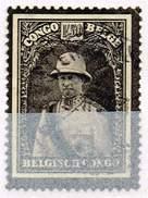Belgisch-Kongo 1934, Michel# 156 O Mourning Stamp King Albert I - 1923-44: Gebraucht