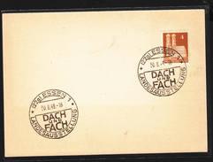 GERMANIA  1949 -  DACH Und FACH - Landesausstellung - Fabbriche E Imprese