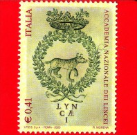 Nuovo - MNH - ITALIA - 2003 - Accademia Dei Lincei - 0,41 € • Emblema Dell´accademia - 2001-10: Mint/hinged