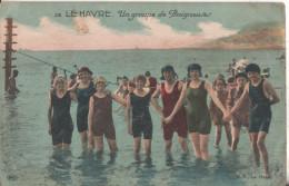 76 Le Havre La Plage Baigneurs - Le Havre