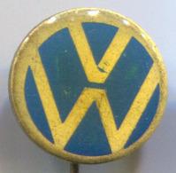 Volkswagen VW - Car, Auto, Automotive, Vintage Pin Badge, Abzeichen - Volkswagen