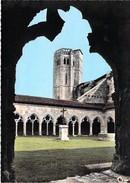 32 - La Romieu - Vue Interieure De La Cour Et Du Cloitre. CPSM Dentelée - Autres Communes