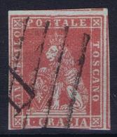 Italy  Toscana   Sa  4, Mi. 4x  Used Obl. - Toskana