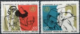 Cuba 1207/1208 ** MNH. 1968 - Unused Stamps