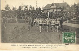 REIMS.-  Visite De M. Poincaré Le 19 Octobre 1913    63 - Reims