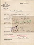 Armée Suisse. Service Sanitaire. Internement Des Prisonniers De Guerre En Suisse. Sergent Bonyon. - 1914-18