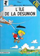 BD Benoit Brisefer: L'Ile De La Désunion (n° 9) Par Peyo - Edition En Or Le Lombard - Benoît Brisefer