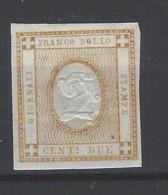 Italia - 1862 - Nuovo/new MH - Giornali - Sass. N. 10 - 1861-78 Victor Emmanuel II.