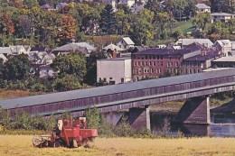 Hartland New Brunswick - World Longest Covered Bridge - Harvester - Otros