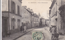 CARTE POSTALE    ERMONT 95   Rue D'Eaubonne - Ermont