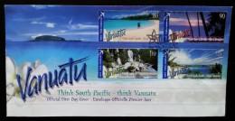 VANUATU - FDC 2005 - YT N°1226 à 1229 - TOURISME - Vanuatu (1980-...)