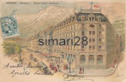 GRENOBLE - GRAND HOTEL MODERNE (ILLUSTRATEUR TAMAGNO) - Grenoble
