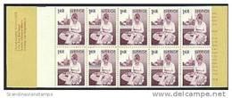 ZWEDEN 1976 Postzegelboekje Kantklossen PF-MNH-NEUF - 1951-80