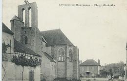 77, Seine Et Marne, Environs De Montereau, FLAGY, Scan Recto-Verso - Altri Comuni