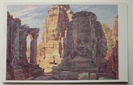 22.Cambodge-Angkor Thom.  - Angkor-Thom Bayon. - Vuibert Editions - Cambodge