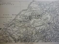 Maroc , La Plaine D'Oudjda 1914 - Documenti Storici