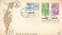 1960 Israel First Day Issue FDC - Suivez Le Soleil En Israel - No Address. - Israel
