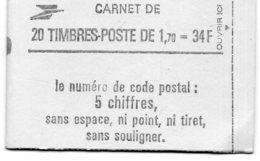 FRANCE CARNET N°2318-C1 LIBERTE DE DELACROIX 20 Timbres  Gomme Brillante   Conf 8 (6) - Libretas