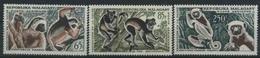 1961 Lemori, Madagascar Posta Aerea, Serie Completa Nuova (**)