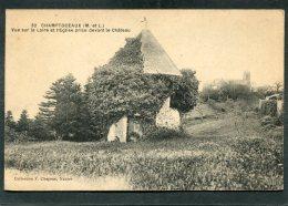 CPA - CHAMPTOCEAUX - Vue Prise Devant La Château - Champtoceaux