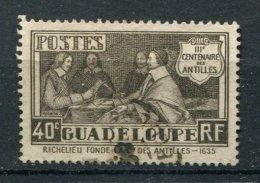 Guadeloupe  Ob N° 127 - Rattachement Des Antilles à La France - Guadalupe (1884-1947)