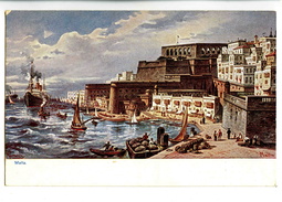 A 18784   -   Malta  -  Illustrateur Spilberg - Perlberg, F.