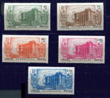Guadeloupe  * N°  142 à 146 - Révolution - Guadeloupe (1884-1947)