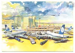 Bruxelles, SABENA, Aéroport Intérnational, écrite - Aerodrome