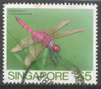 Singapore. 1985 Insects. $5 Used. SG 501 - Singapore (1959-...)