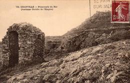 CPA GRANVILLE - PROMENADE DU ROC - Granville
