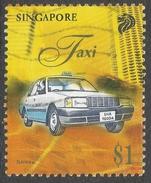 Singapore. 1997 Transportation. $1 Used. SG 879 - Singapore (1959-...)