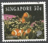 Singapore. 1994 Reef Life. 30c Used. SG 745 - Singapore (1959-...)