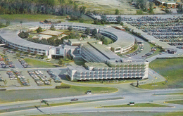 Montreal Airport Aéroport - Québec Canada - Hilton International Hotel  - 2 Scans - Montreal